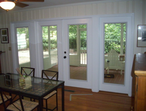 Shady Screened Porch